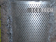 Asphalt Bitumen Cement Removal - Dry ice blasting