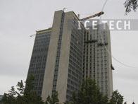 buildings 7 - Dry ice blasting