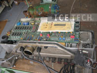 Electrical Components cleaning 5 - Dry ice blasting