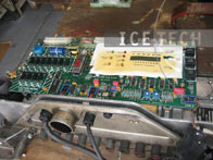 Electrical Components cleaning 6 - Dry ice blasting