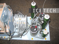 Electrical Components cleaning 8 - Dry ice blasting